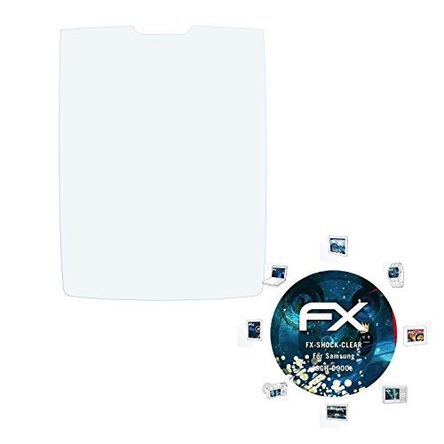 Samsung SGH-D900e Folie - 3 x atFoliX FX-Shock-Clear stoßabsorbierende ultraklare Panzerfolie Displayschutzfolie