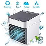Condizionatore Portatile,Air Cooler 3-in-1 Mini Raffrescatore Evaporativo...