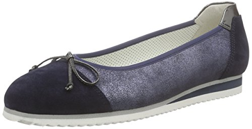 Gabor Shoes 43.100 Damen Geschlossene Ballerinas, Blau (16 ocean/anth(So.blau), 39 EU