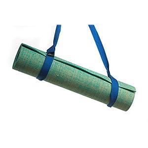 Zeller Active Yogamatte Tragegurt Trageband | Verstellbarer Trageriemen Zum Transport von Pilates und Yogamatten | Baumwoll Gurt für Alle Yoga Matten Größen (Ohne Matte), Farbwahl