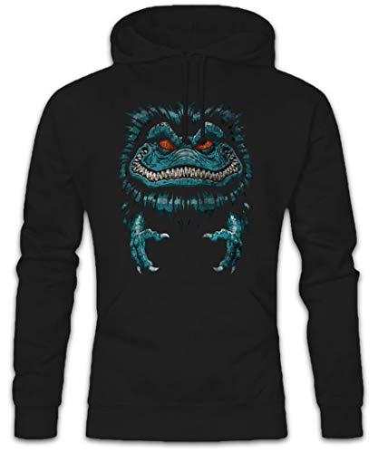 Urban Backwoods Space Monster Hoodie Kapuzenpullover Sweatshirt (Monster Hoodies Für Männer)