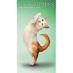 2018 Yoga Kittens 2 Yr Pocket Planner