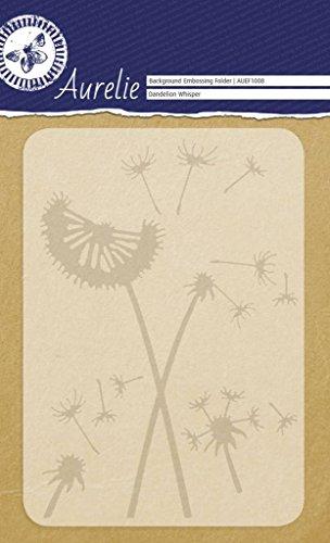 Aurelie auef1008Pusteblume Whisper Hintergrund Prägeschablone