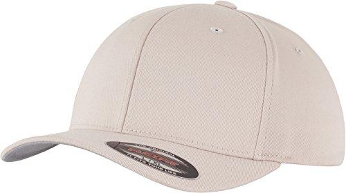 Yupoong Flexfit - Cappello da Uomo in Lana pettinata - Stone Small 0539aa6b7e88