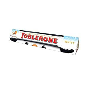 Toblerone - Barre Chocolat Blanc Noël 400gr