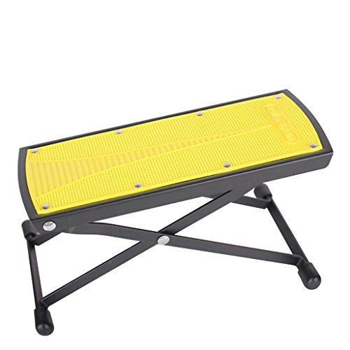 Imagen de reposapiés para  soporte de  clásica multi stall ajuste pedal de  pedal de  negro / amarillo  color  2