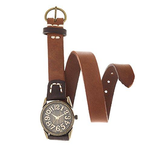 Reloj de Mujer de Moda G-Style Correa de Cuero Relojes Pulsera Regalo Perfecto (RL01)