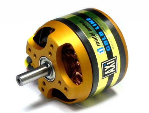 RCECHO AXI Model Moteurs Gold Line 5325/24 RC Hobby Outrunner Brushless Moteur OM550 version complète Apps Édition