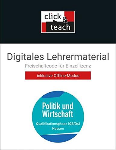 Preisvergleich Produktbild Politik u. Wirtschaft 4 click & teach Box Q3 / Q4 Hessen: Digitales Lehrermaterial (Karte mit Freischaltcode)