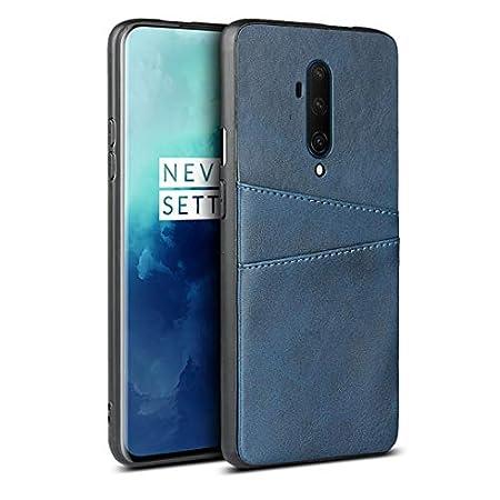 FAWUMAN Handyhülle für OnePlus 7T Pro,Wallet Handytasche PU Leder Schützende präzise mit Zwei Kartenfach