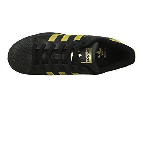 Adidas Superstar Foundation Mädchen Sneaker Schwarz - 4