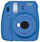 Fujifilm Instax Mini 9 Instant Point and Shoot Camera (Cobalt Blue)