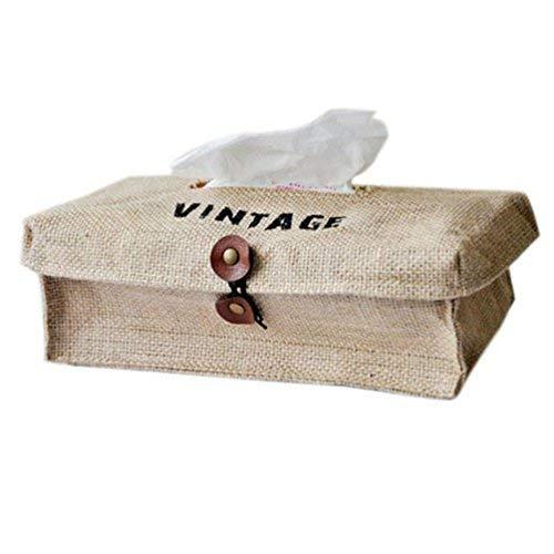 Fatalom Papierbehälter, Retro-Stil, Fluid-Stil, für Zuhause und Auto - Aufbewahrungsbox Für Schuhe Jordan