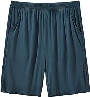 JINSHI Men's Pajama Shorts Comfortable Lounge Sleep Shorts with Poc