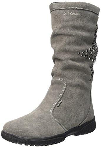 PrimigiAVRIL-E - Stivali a metà gamba con imbottitura pesante  Bambina , Grigio (Grigio (Grigio)), 28 EU