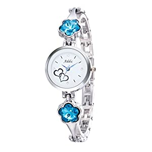 Addic Analogue White Dial Women's & Girls Watch (Addicww449)