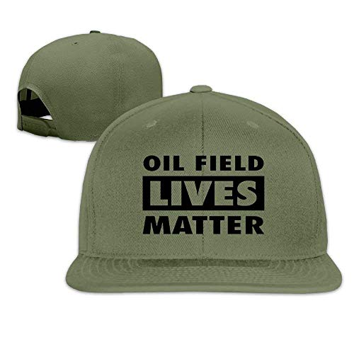 785b0a10c ASKYE Oil Field Lives Matter Men Women Sport Hat Custom Cap Baseball Mesh  Hat Design HatForestGreen