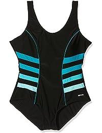 Beco–Bañador para mujer (Copa B de Basics, mujer, Badeanzug B-Cup-Basics, azul, 50