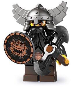 LEGO 8805 - Minifigur böser Zwerg aus Sammelfigurenserie 5