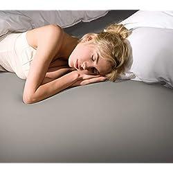 Formesse Bella-Donna Jersey Spannbettlaken perlgrau, 140x200-160x220 cm