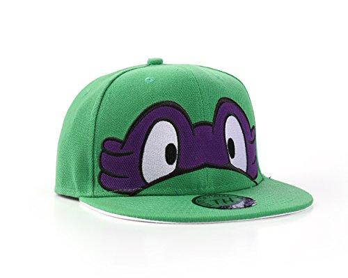 Underground Kulture Ninja Turtles Snapback Baseballkappe (Lila / Purple)
