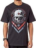 Metal Mulisha Schwarz Seal T-Shirt (Large, Schwarz)