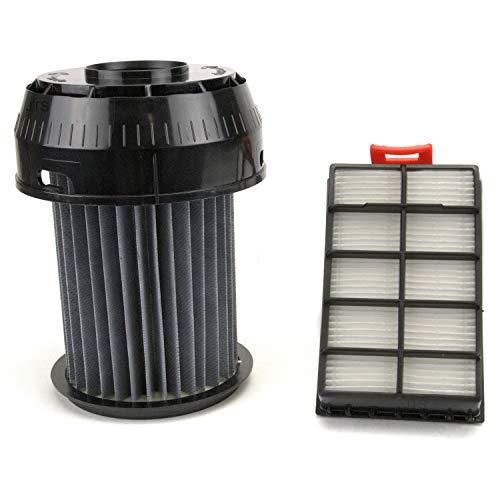 DeClean Hepafilter Filter Abluftfilter Ersatzteil für Staubsauger Set Ersatzteil für Bosch BGS6. Roxx`x, für BBZ155