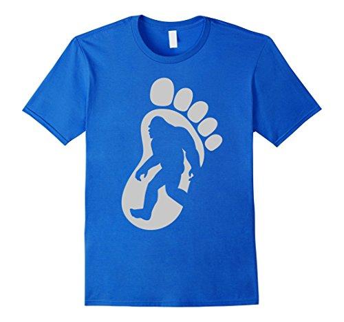 bigfoot-shirt-bigfoot-and-a-big-foot-on-front-of-shirt-herren-grosse-m-konigsblau