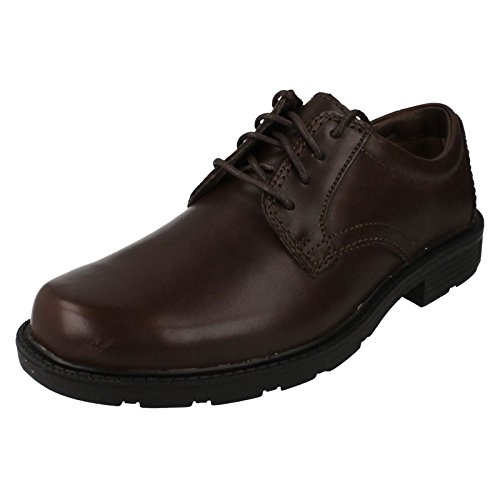 Clarks, Scarpe stringate uomo Marrone Dark Brown Marrone (Dark Brown)