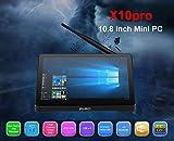 PIPO X10 Pro Support de Mini PC pour Ordinateur de Poche Cherry Trail Z8350 4 Go...
