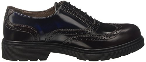Nero Giardini A719330d, Chaussures À Lacets Pour Femme Marron (abrasivato Bordo)