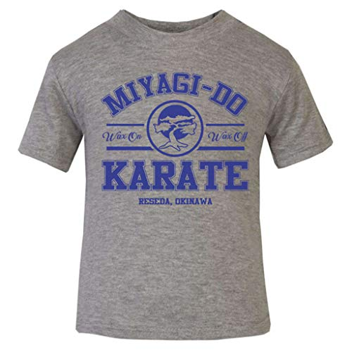 Miyagi Do Karate Kid Blue Baby and Toddler Short Sleeve ()