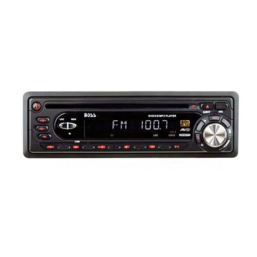 In Dash/Abnehmbare, DVD-Player, AM/FM, 60 W x 4 - Dvd-player Boss