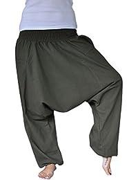 bonzaai sarouel femme mode hippie pantalon de yoga unüberlegt khaki
