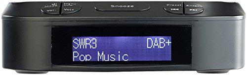 VR-Radio DAB Wecker: Digitaler Radiowecker mit DAB+ & UKW-Empfang, 10 Stations-Speicher (UKW Radio) (Radio Station 10)
