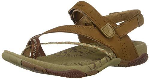 Merrell Womens Siena Light Brown Sandal Light Brown