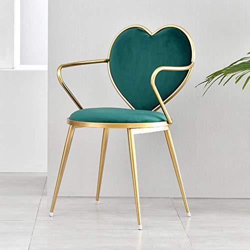 Seeksung bar stool/chair decorativi di lusso flanella, giardino sedia di ferro con creative poltrone da spogliatoio, ristorante, club, balcone, toilette, e -b