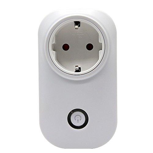 Preisvergleich Produktbild MS-Tech SmartHome WiFi Steckdose mit App Steuerung, 1 Stück, MSL-50