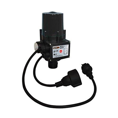 Wolpertec Druckschalter mit Trockenlaufschutz für Hauswasserwerke Pumpenschalter Druckregler