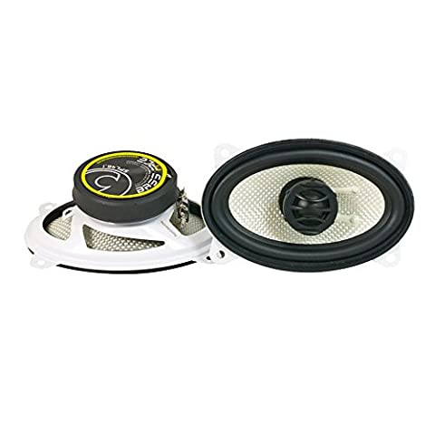Bass Face SPL46.1 300W 4x6 inch Coaxial Car Speakers