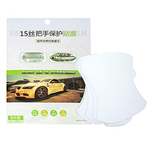 GreatFunAdesivo Pellicola Protettiva per Auto Trasparente Car Door Edge Maniglia Scratch Protector Maniglia Scratch Pellicola Trasparente Protection Sticker Invisib