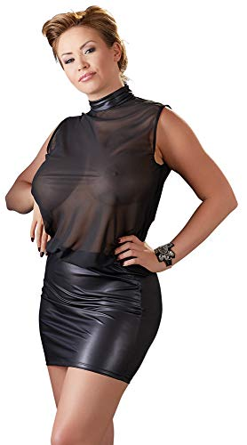 Cottelli Collection Damen 27159451051 Sexy Dessous Strapsgürtel, Schwarz (Nero 001), 54 (Herstellergröße: X-Large) -