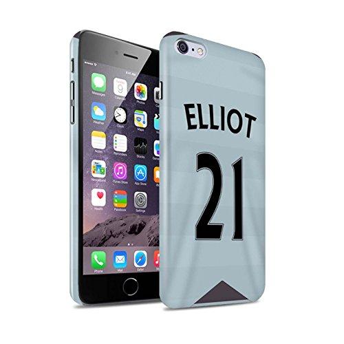 Offiziell Newcastle United FC Hülle / Glanz Snap-On Case für Apple iPhone 6S+/Plus / Pack 29pcs Muster / NUFC Trikot Away 15/16 Kollektion Elliot