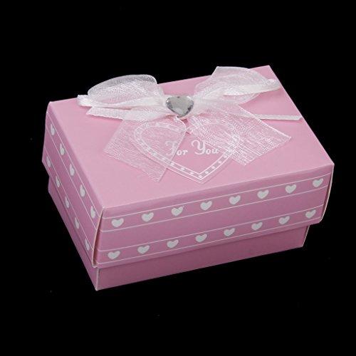 Sharplace Kristall Schnuller Mustache Baby Kind Hochzeit Gastgeschenk - Rosa (Schnuller Rosa Kristall)