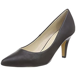 Another Pair of Shoes PriscilaaE2, Damen Pumps, Schwarz (black01), 39 EU