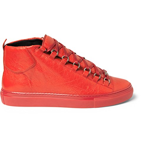 balenciaga-mens-arena-high-top-rouge-grenade-red-lambskin-leather-trainer-size-43-eu