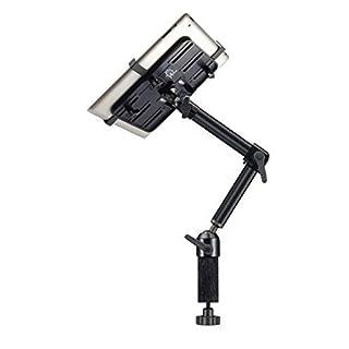 Arkscan MCLM12 Aluminum Desk & Pole Clamp Mount Stand Holder 360° Degree Rotation Heavy Duty for iPad, iPad Mini & Universal Tablet 7