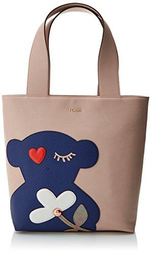 Tous Shopping Pacth Art, Shopper para Mujer, Varios colores (Rosa-Multi) 14x32x28 cm...