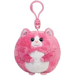 Ty Beanie Ballz - Tumbles porte-clés chat peluche 8,5 cm [Import allemand]