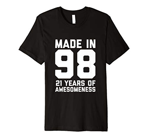 21st Birthday T Shirt Men Women Son Age 21 Year Old Gift